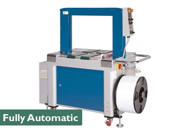 博壳松全自动捆扎机类似于半自动捆扎机,但更适合置于驱动的生产中。