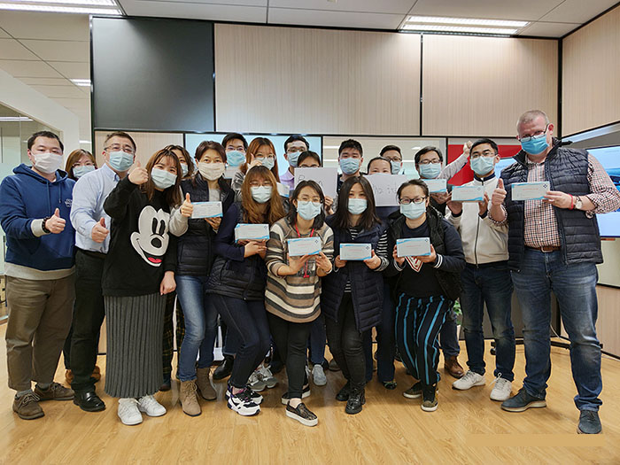 Boxon donate masks